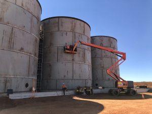 CIL Tanks under construction